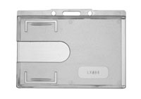 Card Holder Thumblsot Clear Horizontal image